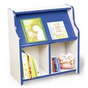 Playscapes Bookcase; Maple / Purple