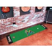 FANMATS MLB - Miami Marlins Putting Green Mat