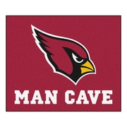 FANMATS NFL Arizona Cardinals Man Cave Outdoor Area Rug; 5' x 6'