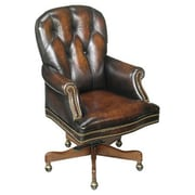 Seven Seas Seating Winston Leather Executive Chair; James River Edgewood Brown