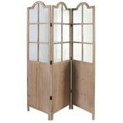 A&B Home Group, Inc 74.8'' x 20.9'' 3 Panel Room Divider