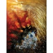 Yosemite Home Decor Contemporary & Abstract Art Stormy Weather Original Painting on Wrapped Canvas