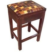 New World Trading Pisco Burano 26'' Bar Stool with Cushion