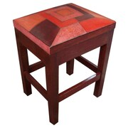 New World Trading Pisco Ascoli 26'' Bar Stool with Cushion