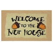 Home & More Nut House Doormat