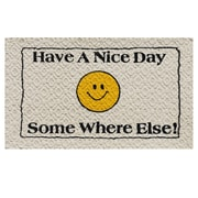 Home & More Have a Nice Day Doormat