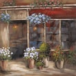 Yosemite Home Decor Revealed Artwork Flower Shoppe Original Painting on Wrapped Canvas