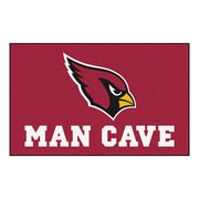 FANMATS NFL Arizona Cardinals Man Cave Outdoor Area Rug; 5' x 8'
