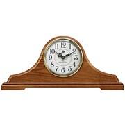 Infinity Instruments Oak Tambour Mantel Clock