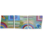 Yosemite Home Decor New Revealed Art Here and Now 3 Piece Original Painting on Wrapped Canvas Set
