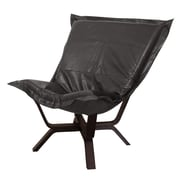 Howard Elliott Milan Avanti Puff Chair; Black