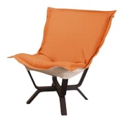 Howard Elliott Milan Sterling Puff Chair; Canyon