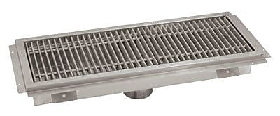 Advance Tabco Floor Trough w/ Grating; 7'' H x 26'' W x 14'' D WYF078277350542