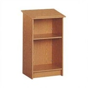 Fleetwood Library Dictionary Stand; Almond/Light Oak