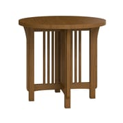 Caravel FLW Round Lamp Table; Mission