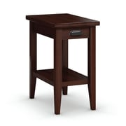 Caravel Downtown Chairside Table with Drawer; Brandywine
