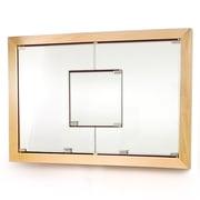 D'Vontz MDV Modular Cabinetry 38.5'' x 26.5'' Recessed Medicine Cabinet; Maple