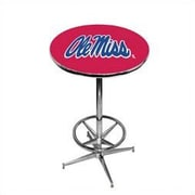 Wave 7 NCAA Pub Table; Ole Miss - Red