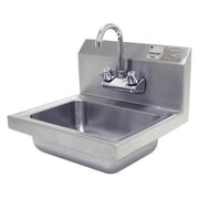 Advance Tabco 17'' x 17.25'' Single Hand Wash Sink w/ Faucet