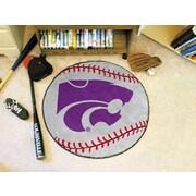 FANMATS NCAA Kansas State University Baseball Mat