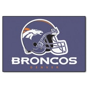 FANMATS NFL - Denver Broncos Mat; 1'8'' x 2'6''
