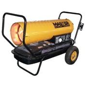 Master 135,000 BTU Portable Kerosene Forced Air Utility Heater with Thermostat