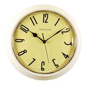 Ashton Sutton Retrospective Wall Clock; White