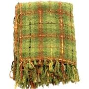 Sabira Plaid Throw Blanket