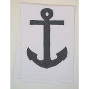 Lowcountry Linens Anchor Kitchen Towel