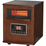 DuraHeat 1500 Watt Portable Electric Infrared Cabinet Heater with Remote Control