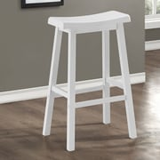 Monarch Specialties Inc. 29'' Bar Stool (Set of 2); White