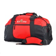 Olympia 11'' Gym Duffel; Red