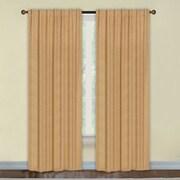 Dainty Home Portofino Blackout Thermal Single Curtain Panel; Gold