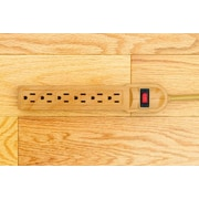 Invisiplug Standard Surge Protector; Light Natural