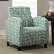Monarch Specialties Inc. Angled Kaleidoscope Arm Chair