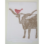Lowcountry Linens Longhorn Kitchen Towel