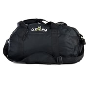 Olympia 11'' Gym Duffel; Black