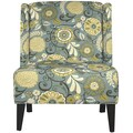 angelo:HOME Barton Wingback Chair; Autumn Grey