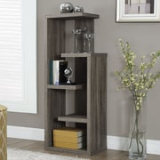 Monarch Specialties Inc. 48'' Standard Bookcase; Dark Taupe