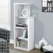 Monarch Specialties Inc. 48'' Standard Bookcase; White