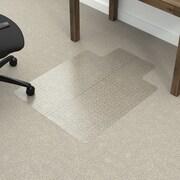 Dimex Fold-N-Go Low Pile Carpet Edge Straight Chair Mat; 0.11'' H x 36.5'' W x 48.5'' D