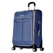 Olympia Tuscany 25'' Spinner Suitcase; Blue