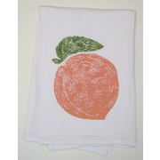 Lowcountry Linens Peach Kitchen Towel
