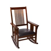 Gift Mark Mission Rocking Chair; Cherry