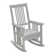 Gift Mark Mission Kid's Rocking Chair; White