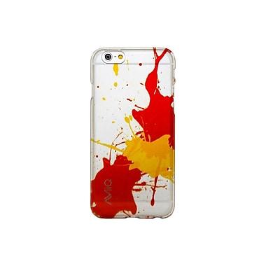 AviiQ Splash Pattern iPhone 6 Plus Phone Case, Yellow, Orange and Red