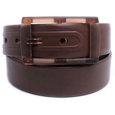Colourful Silicone Waist Belt, Brown