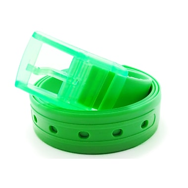 Colourful Silicone Waist Belt, Green