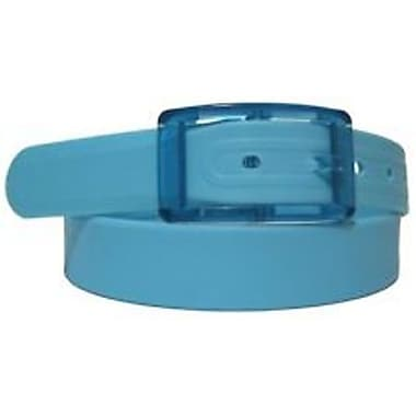 Colourful Silicone Waist Belt, Blue