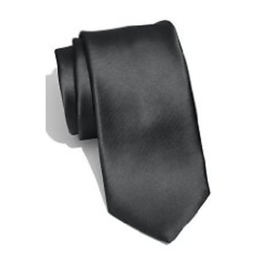 Casual Stylish Slim Necktie, Dark Gray